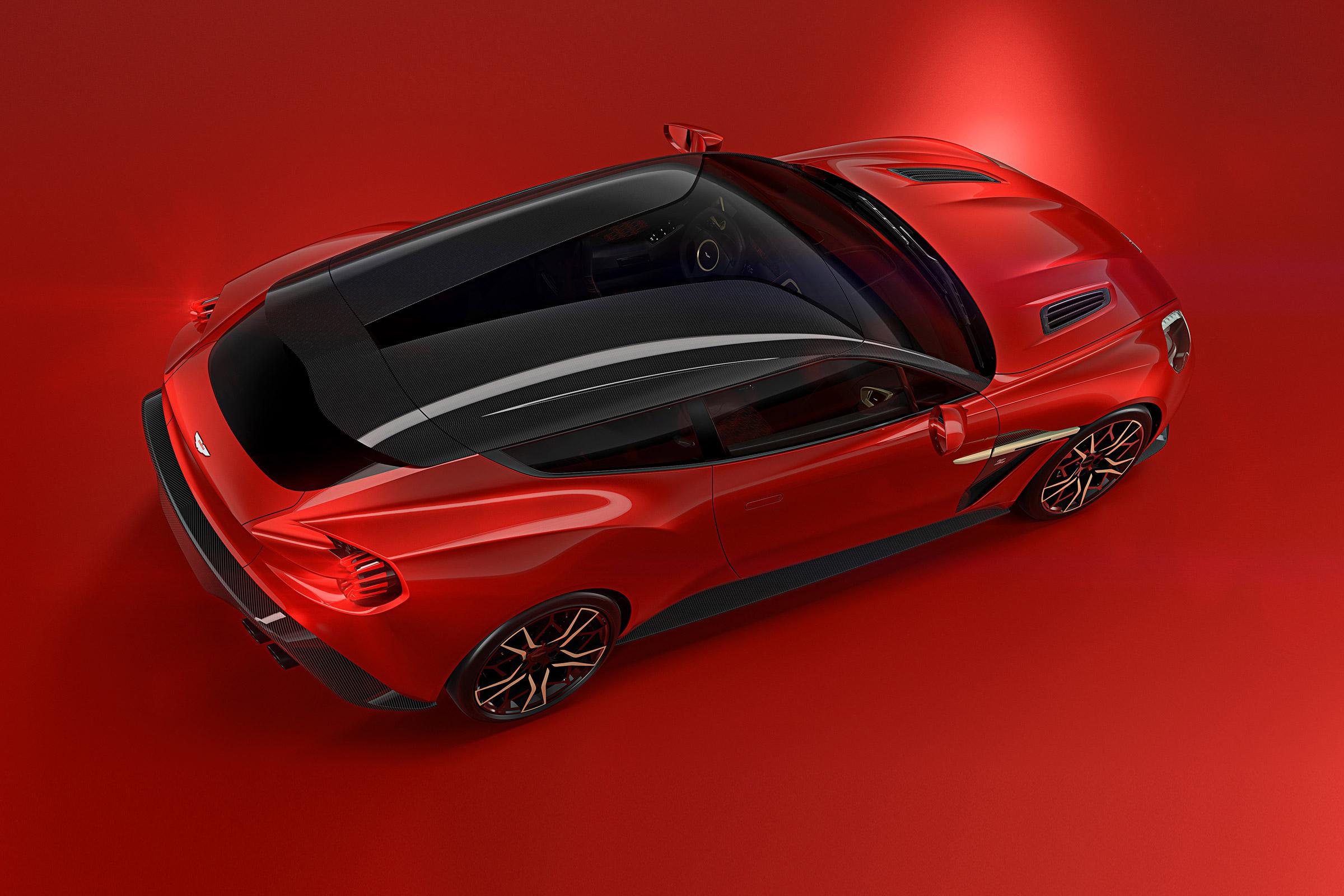 Aston Martin Vanquish Zagato Shooting Brake And Speedster More Images Released Evo