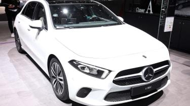Mercedes-Benz A-class – front quarter