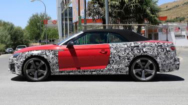 Audi S5 TDI Spy - side