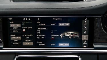 Porsche Panamera Turbo - Central screen