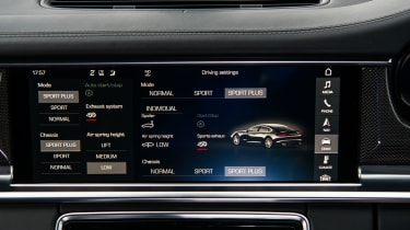 Porsche Panamera Turbo - Central screen