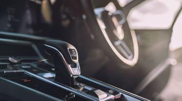 Porsche Panamera Turbo - Gear lever