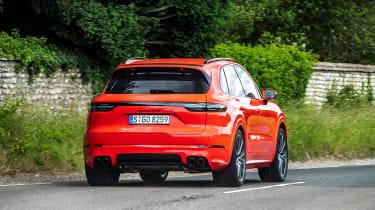 Porsche Cayenne GTS  – rear cornering