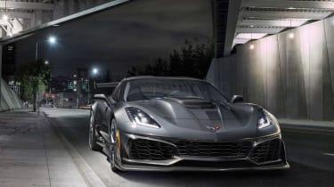 Corvette ZR1 - front