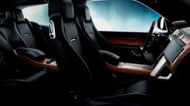 Range Rover Coupe SV - interior black