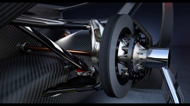 Holden Time Attack concept - suspension