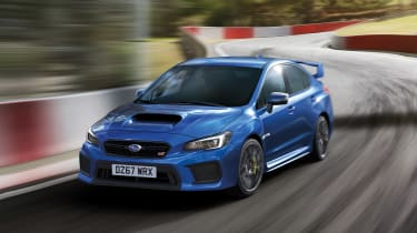 Subaru celebrates final WRX STI dynamic