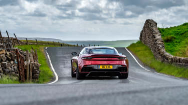 Aston Martin DBS Superleggera rear drift