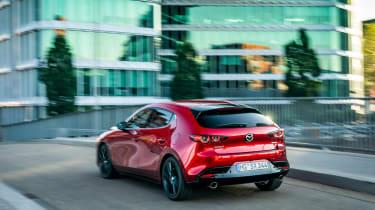 New Mazda 3 Skyactiv-X 2019 review rear