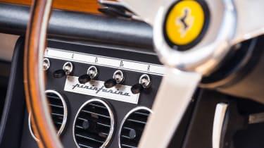 1966 Ferrari 330 GTC - dials