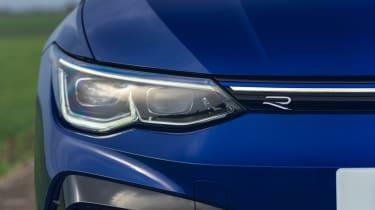 Volkswagen Golf R 2021 review - headlight