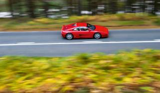 Ferrari F355 – top shot