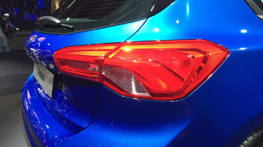 Ford Focus launch - rear lights