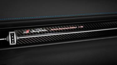 Toyota GR Supra Jarama Racetrack Edition revealed - decal