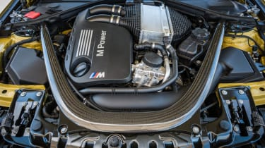 BMW M4 twin-turbo engine