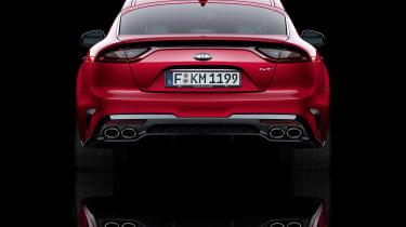 Kia Stinger GT press - static rear