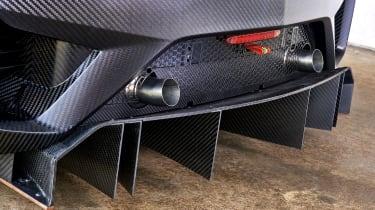 Honda NSX GT3 - Diffuser