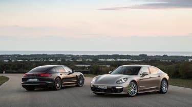 Porsche Panamera Turbo S E-Hybrid ride -