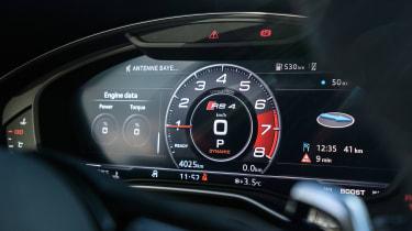 Audi RS4 – Virtual Cockpit