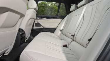 BMW 530d xDrive Touring rear seats