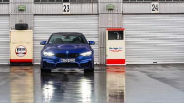 BMW M4 CS - parked