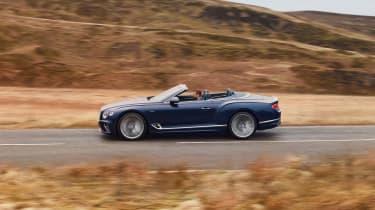 Bentley Continental GT Convertible Speed – pan