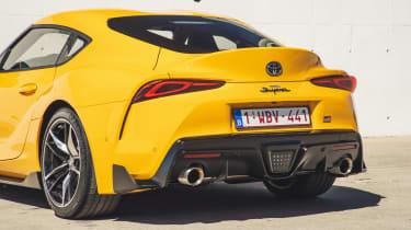 Toyota Supra rear detail
