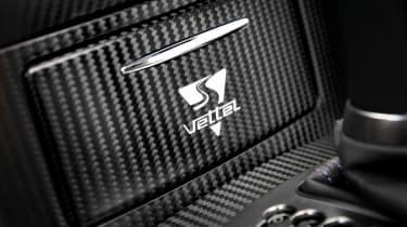 2012 Infiniti FX Vettel badge