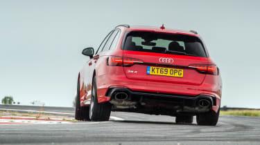 Audi RS4 – rear