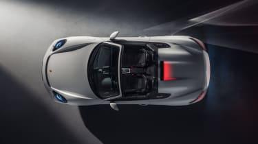 Porsche 718 Spyder top