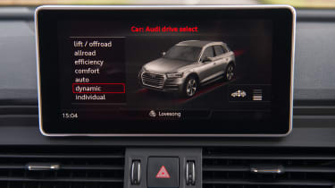 Audi Q5 - infotainment