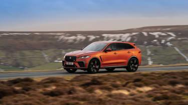 Jaguar F Pace SVR 2021 review - pan 1