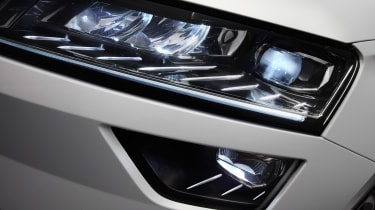 Skoda Karoq press headlight