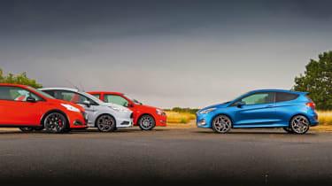 New Ford Fiesta ST vs hot hatch greats