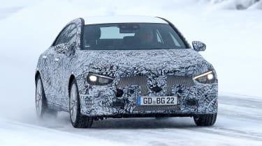 Mercedes CLA spy - front