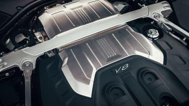 Bentley Flying Spur V8 engine