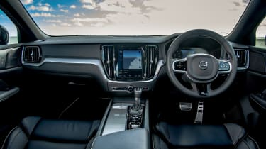 Volvo V60 R-design - interior