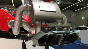 Akrapovič exhaust for Lamborghini Aventador – 2017 Frankfurt motor show
