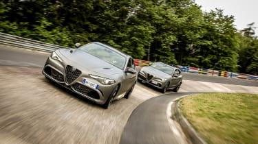 Alfa Romeo NRING Giulia - and Stelvio