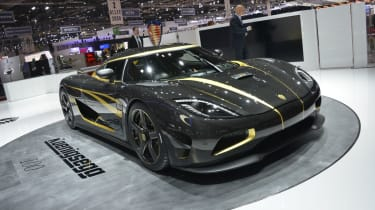 Koenigsegg Hundra revealed at the Geneva motor show