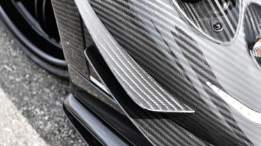Pagani Zonda 760RS - the most extreme Zonda carbonfibre winglets