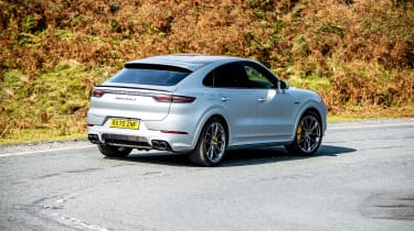 Porsche Cayenne Coupe Turbo S e-hybrid – rear