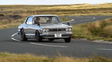 Nissan Hakosuka GT-R - front
