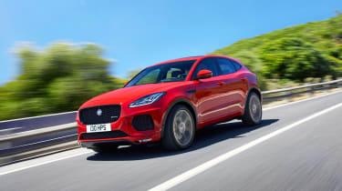 Jaguar E-Pace - driving front 3