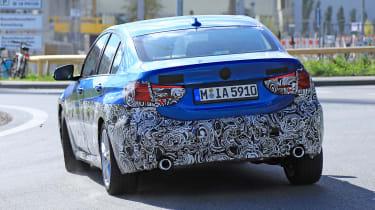 BMW 1-series saloon - rear