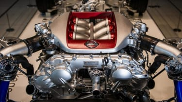 Nissan GT-R V6 twin-turbo engine