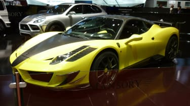 Geneva 2011: Mansory's Ferrari 458 Italia