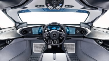 McLaren Speedtail - dash