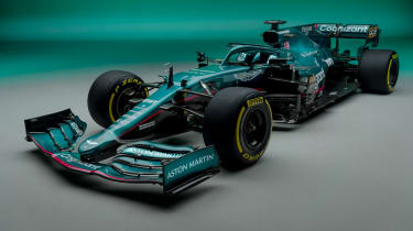 2021 Formula 1 racers – Aston martin