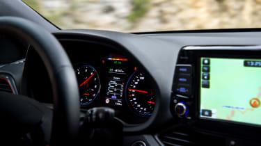 Hyundai i30 N Fastback infotainment